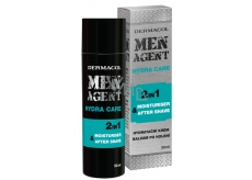 Dermacol Men Agent 2in1 Moisturizing gel, lotion and aftershave balm 50 ml