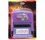 Albi Razítko se jménem Adélka 6,5 cm × 5,3 cm × 2,5 cm