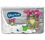 Big Soft Spring paper kitchen towels with 2 layers of 4 pieces