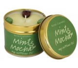 Bomb Cosmetics Mint Mocha A scented natural, handmade candle in a tin can burn for up to 35 hours