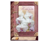 Ditipo Greeting Card Y - Book of Life 224 x 157 mm, original song - White Orchid - Eva and Vašek