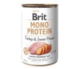 Brit Mono Protein 400g Turkey + Sweet Potato