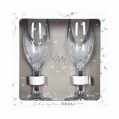 Albi Wedding champagne glasses 2 x 140 ml