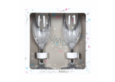 Albi Wedding champagne glasses 2 x 140 ml