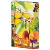 Adpal Citronella repellent scented tea candles against mosquitoes 6 pieces