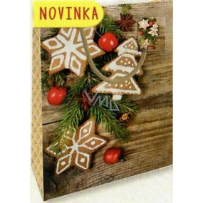 Nekupto Gift Paper Bag Medium 23 x 18 x 10 cm Christmas 1802 01 WBM