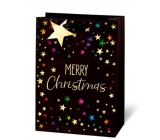 BSB Luxury Christmas gift paper bag large Merry Christmas 36 x 26 x 14 cm VDT 433-A4