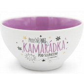 Nekupto Gift Center Ceramic Bowl Best Friend 13 x 6.5 cm