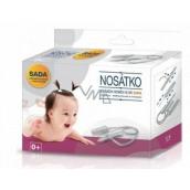 Stretcher Nasal aspirator plastic set for children