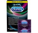 Durex Mutual Pleasure condom nominal width: 56 mm 16 pieces