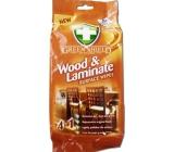 Green Shield Wood & Laminate 4v1 na dřevo a lamináty vlhčené ubrousky 50 kusů