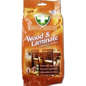 Green Shield Wood & Laminate 4in1 for wood and laminated wet napkins 50 pieces