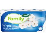 This Family Cotton Whiteness toilet paper white 2 ply 150 pieces 8 pieces