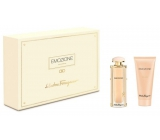 Salvatore Ferragamo Emozione Perfumed Water for Women 50 ml + Body Milk 100 ml, Gift Set
