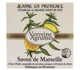 Jeanne en Provence Verveine Cédrat - Verbena and Citrus fruits solid toilet soap 100 g