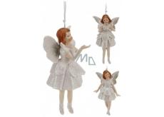 Anděl porcelán Zvonek mix 13 cm