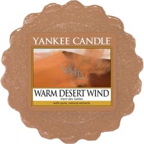 Yankee Candle Warm Desert Wind - Warm desert wind scented wax in aromalamp 22 g