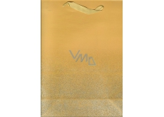 Ditipo Gift Paper Bag Glitter Gold 26.4 x 13.6 x 32.7 cm QAB