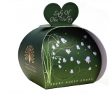 English Soap Lily of the valley from the valley natural perfumed soap with shea butter 3 x 20 g