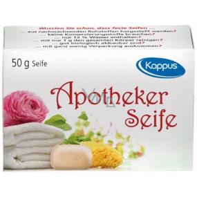 Kappus Apotheker antibacterial medical very fine toilet soap 50 g