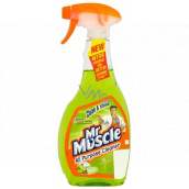 Mr. Muscle Clean & Shine Citrus Lime green cleaner spray 500 ml