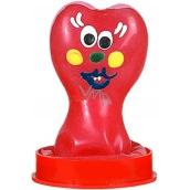 Erco Erotic Funny Srdeční žertovný prezervativ v kopulce 1 kus