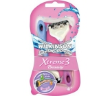 Wilkinson Lady Xtreme 3 Beauty razor 3 blades 3 + 1 pieces