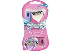 Wilkinson Lady Xtreme 3 Beauty holící strojek 3 břity 3 + 1 ks