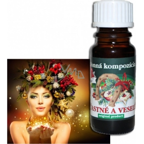 Slow-Natur Happy and Merry Fragrant Oil 10 ml