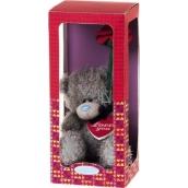 Me to You Medvídek s růží v dárkové krabičce 12,5 cm