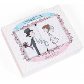 Albi Wedding Set of two soaps for newlyweds 120 g