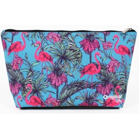 Albi Original Travel cosmetic bag Flamingos 33 x 19 x 8 cm