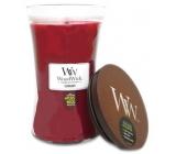 WoodWick Currant - Rybíz vonná svíčka s dřevěným knotem a víčkem sklo velká 609,5 g