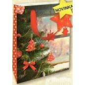 Nekupto Christmas paper gift bag M-WLBM 1743