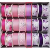 Ditipo Ribbon satin 3 mx 25 mm purple