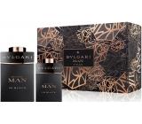 Bvlgari Man In Black perfumed water for men 60 ml + perfumed water 15 ml, gift set