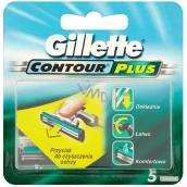 Gillette Contour Plus spare head 5 pcs