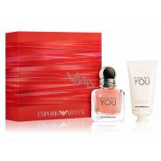 Giorgio Armani Emporio In Love with You Eau de Parfum for Women 30 ml + hand cream 50 ml, gift set