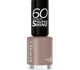 Rimmel London 60 Seconds Super Shine Nail Polish nail polish 810 Grungy Gray 8 ml