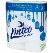 Linteo Classic papírové kuchyňské utěrky 2 kusy
