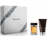 Dolce & Gabbana The One for Men EdT 50 ml Eau de Toilette + After Shave Balm 75 ml, Gift Set