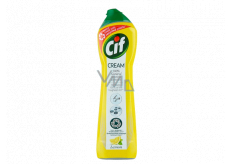 Cif Cream Lemon abrasive cleaning liquid sand 500 ml