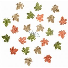 Dřevěné listy 2 cm 24 kusů