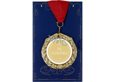 Albi Envelope Card Greeting Card Medal - You're Number One W