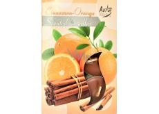 TEAK CANDLES Aura Cinnamon-Orange 6pcs 1595