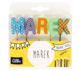 Albi Cake candles name - Marek, 2.5 cm