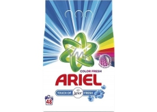 Ariel Color Fresh Touch of Lenor washing powder for color and white laundry 48 doses of 3.6 kg