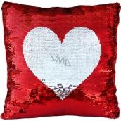 Pillow sequin - Heart