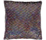 Albi Pillow with sequins Rainbow 37 x 37 x 10 cm