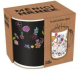 Albi Changing mug Flowers with stems 310 ml